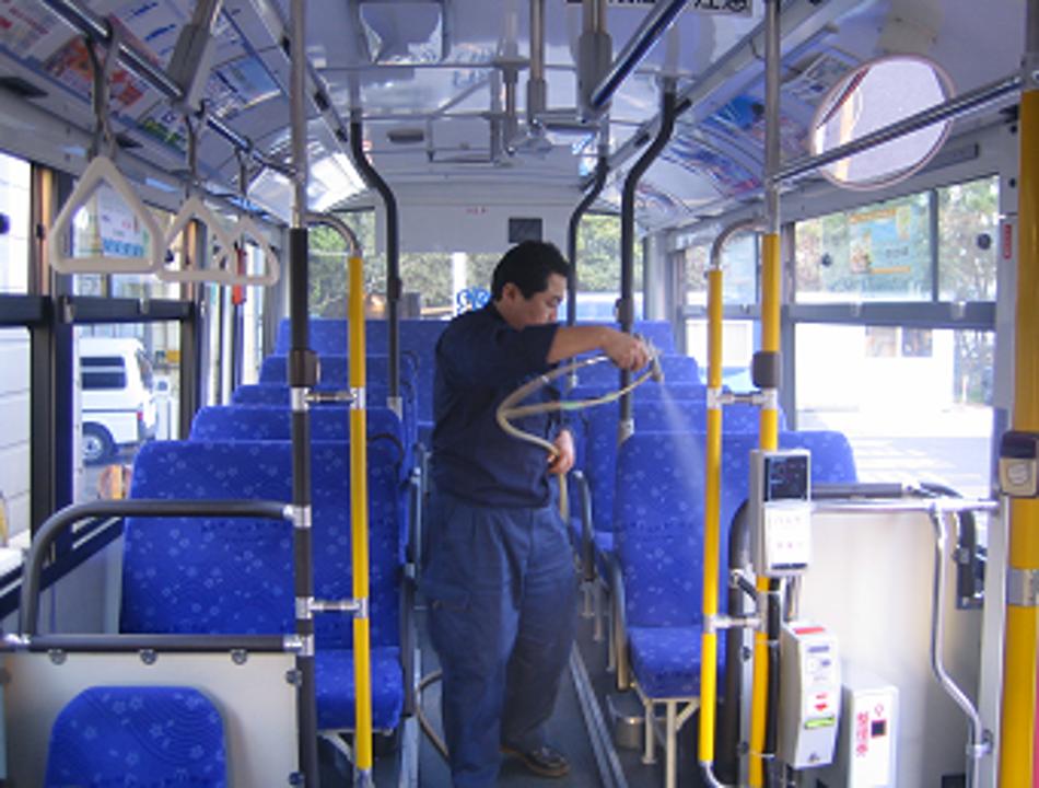 大手バス会社 様(車内)
