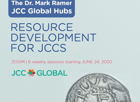 Launching the 1st JCC Global Hub, Shavuot and more