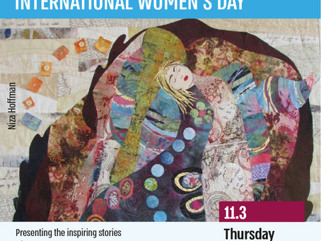 JCC Global Kol Isha event for International Women's Day and much more