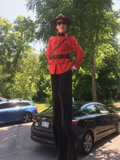 Mountie on Canada Day