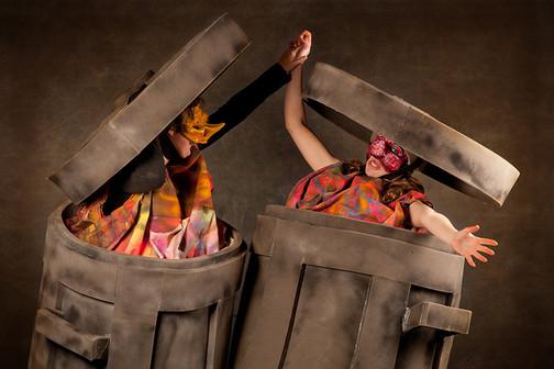 Giant Rubbish Bins