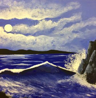 Monochrome Ocean