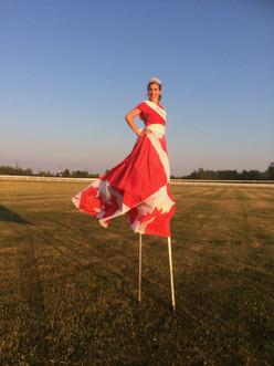 Miss Canada at Ajax Downs