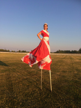 Miss Canada at Ajax Downs