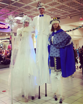 Ice Queen and King