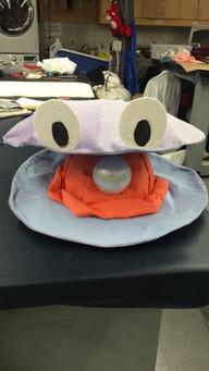 Clam Headpiece - Alice in Wonderland Jr.