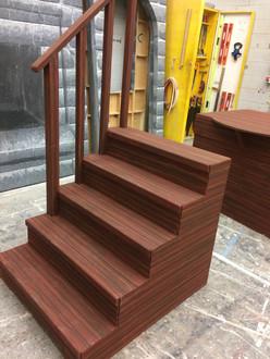Woodgrain Stairs