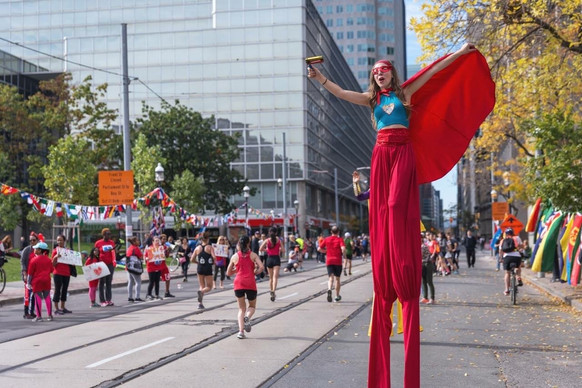 Superhero - Scotiabank Waterfront Marathon
