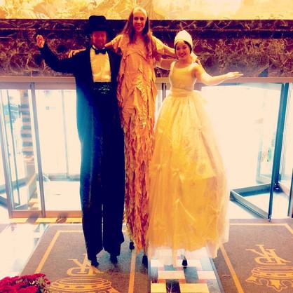 Elegant Wedding Greeters