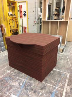 Woodgrain Plinth