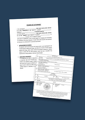 Power of Attorney Apostille + Options