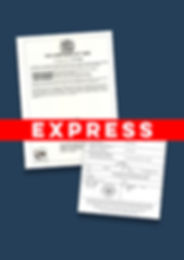 Express Apostille Certificate of Good St