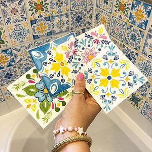 Mexican Tile Stickers (94.5mm sq.)
