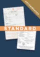Standard Apostille Adoption Certificate.