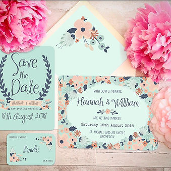 Wedding Stationery - Simply Floral