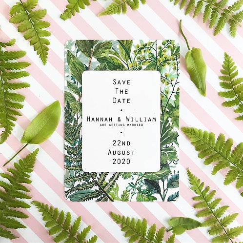 Botanicals Save the Date