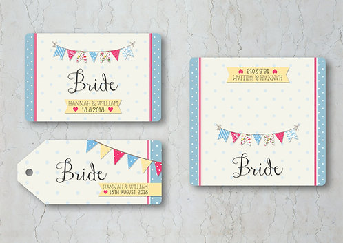Fete Wedding Place Cards
