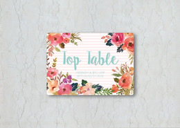 Watercolour Floral Wedding Stationery