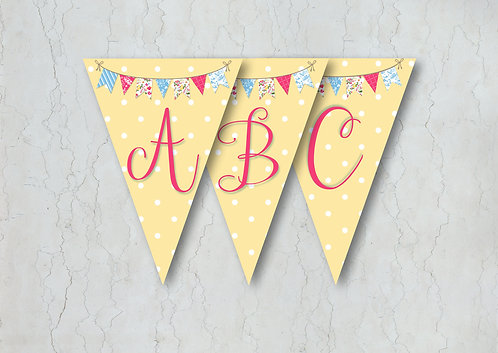 Fete Wedding Bunting