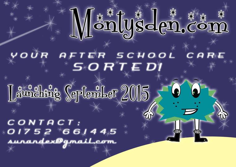 Monty's Den Poster