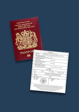 Passport Apostille + Options