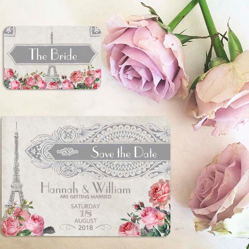 Parisian Wedding Stationery