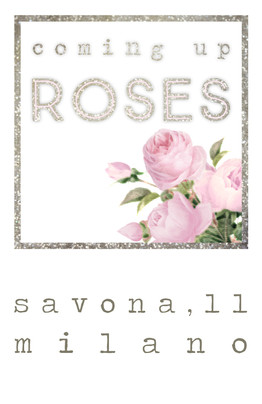 Coming Up Roses Business Card Portrait