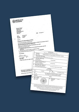 HMRC Letter of Confirmation of Residence