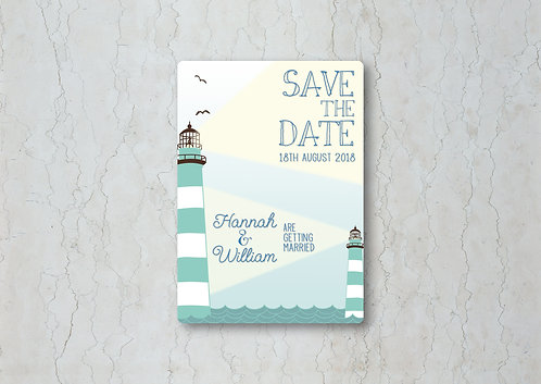 Nautical Wedding Change the Date
