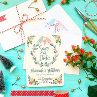 Winter Garden Wedding Stationery