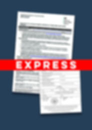 Express Apostille Export Health Certific
