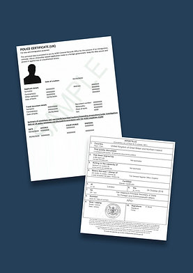 ACRO Police Certificate Apostille + Options