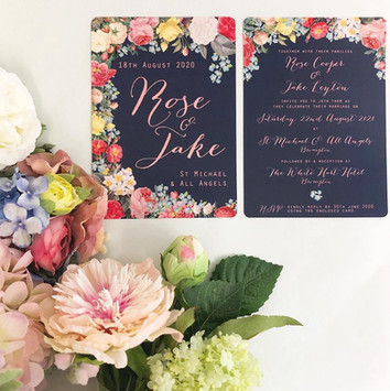 Wedding Stationery Forget Me Not