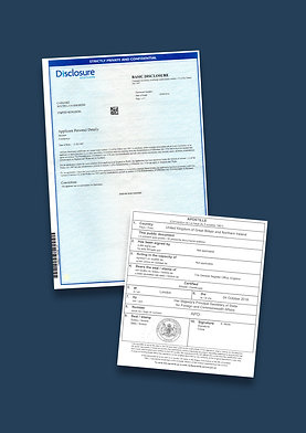 Disclosure Scotland Apostille + Options