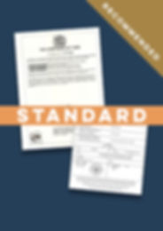 Standard Apostille Certificate of Good S