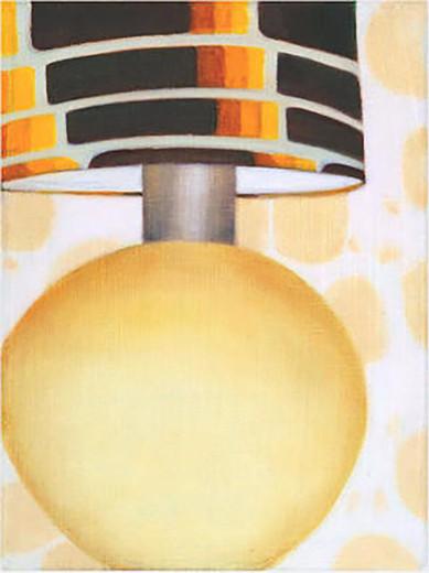 Serie Lampen 2005 Öl/Lw 26x20cm
