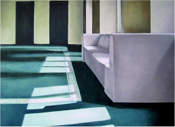 Serie Hotel Riga 2007 Öl/Lw 100x140cm
