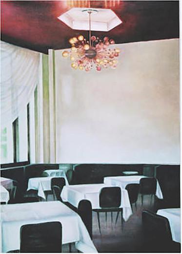 Serie Hotel Riga 2007 Öl/Lw 140x100cm