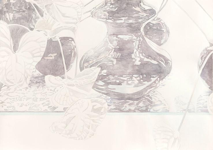 Serie CairoI 2014 Aquarell/Papier 59x84cm