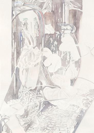 Serie CairoI 2014 Aquarell/Papier 84x59cm