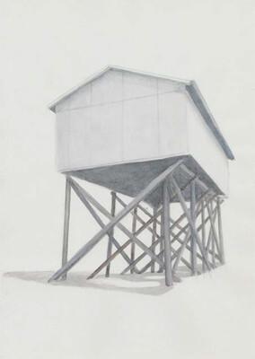 Serie SPO 2010 Aquarell/Papier 29,7x21cm