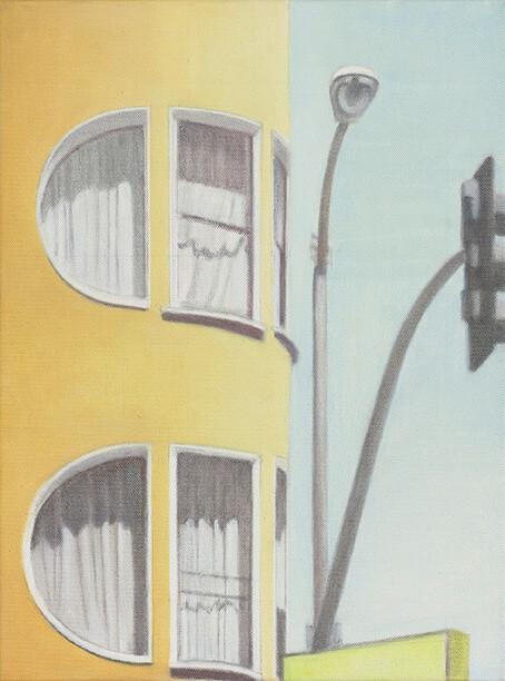 Serie SF Houses 2015 Öl/Lw 40x30cm
