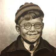 Boy With Fogged Glasses