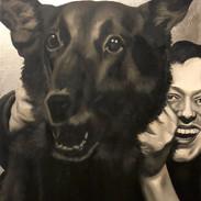 Dog With Man #2