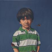 Boy With Butterflies