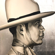 Man In A White Hat