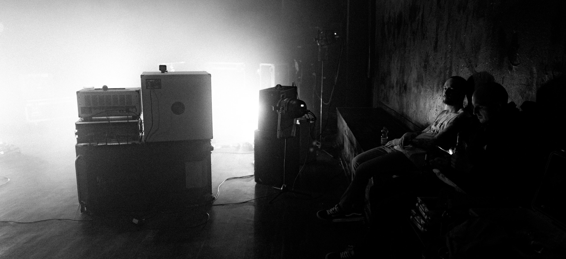 Val Sinestra Videodreh - Schatten
