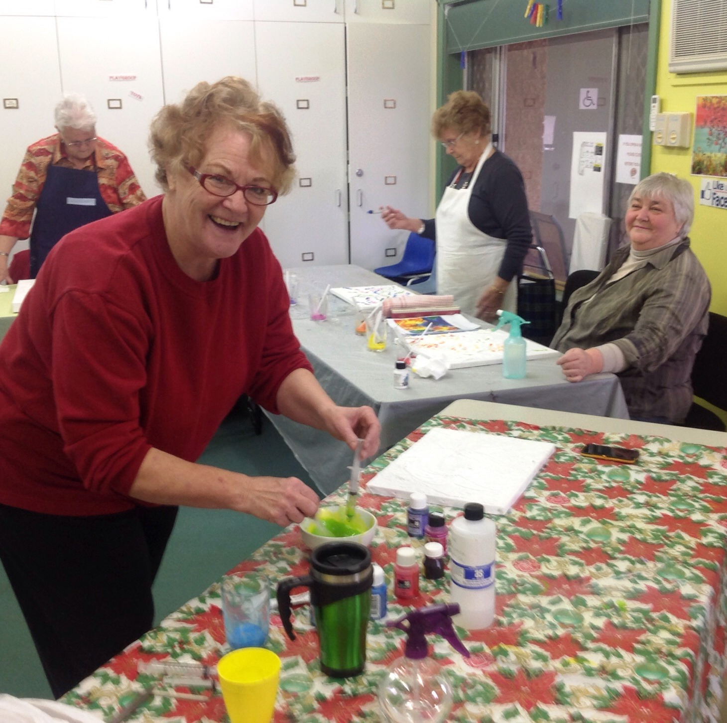Craft group - Yarrawonga NH