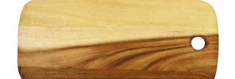 PLANCHE A DECOUPER, bois d'acacia