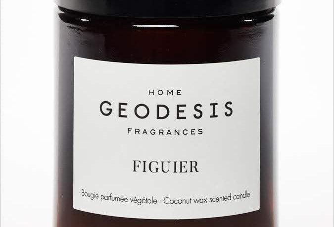 BOUGIE PARFUMEE Figuier, par Géodésis